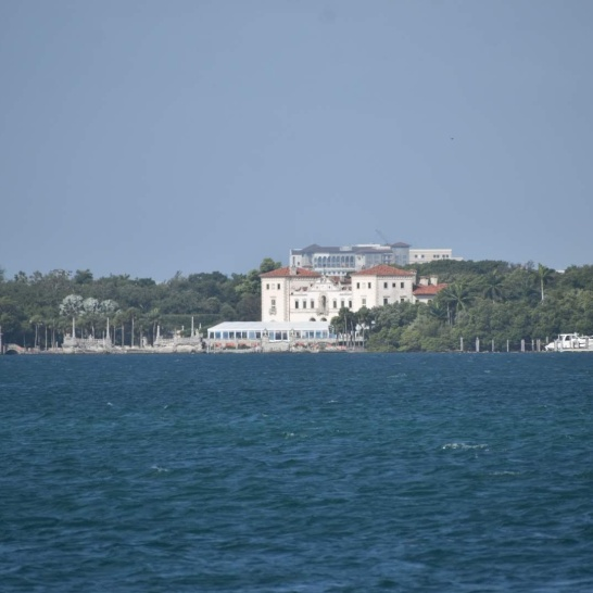 Vizcaya from the water
